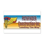 Pathfinder Construction 20x12 Wall Decal