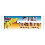 Pathfinder Construction Sticker (Bumper 10 pk)