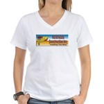 Pathfinder Construction Women's V-Neck T-Shirt