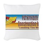 Pathfinder Construction Woven Throw Pillow