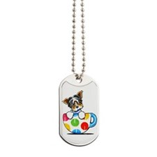 Biewer Yorkie Cup Dog Tags