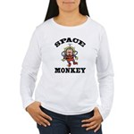 Space Monkey Women's Long Sleeve T-Shirt