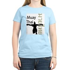 Muay Thai Women's Pink T-Shirt