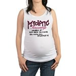 Psychotic Housewife Maternity Tank Top
