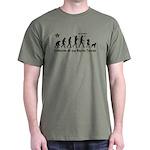 Boston Terrier Evolution! Dark T-Shirt