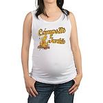 Campsite Junkie Maternity Tank Top