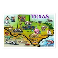 Cute Dallas texas Postcards (Package of 8)