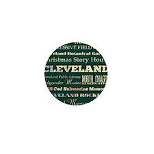 Cleaveland poster Mini Button