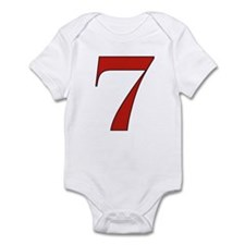 Lucky 7 Infant Bodysuit