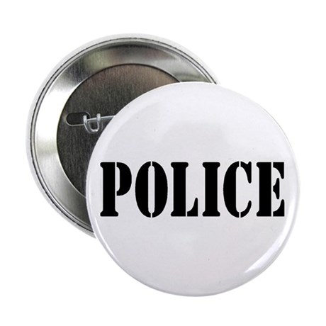 "POLICE 2.25"" Button (10 pack)"