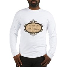 20th Wedding Aniversary (Rustic) Long Sleeve T-Shi