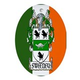 Sweeney Arms Flag Oval Ornament