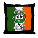 Sweeney Arms Flag Throw Pillow