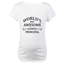 World's Most Awesome Principal Shirt