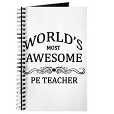 World's Most Awesome PE Teacher Journal
