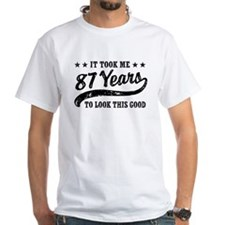 Funny 87th Birthday Shirt