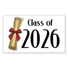 Class of 2026 Diploma Decal