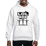Jesus BRB LOL Sweatshirt (Hood)