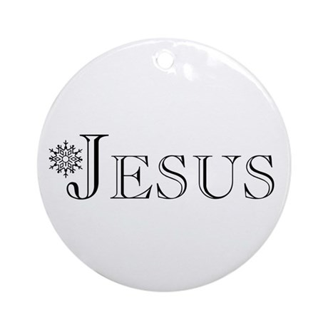 Jesus Ornament (Round)