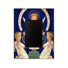 Scandinavian Saint Lucia Angels Picture Frame
