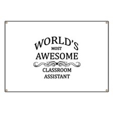 World's Most Awesome Classroom Assistant Banner