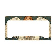 Vintage Angel Praying License Plate Holder