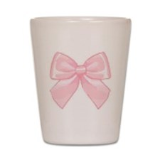 Girly Bow Shot Glass