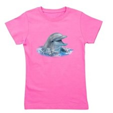 Happy Dolphin Girl's Tee