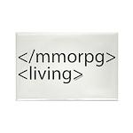 HTML Joke-MMORPGs Rectangle Magnet