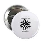 Reflexology Foot Circle Button