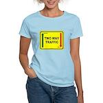 Two Way Traffic 3 Women's Light T-Shirt