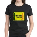 Two Way Traffic 3 Women's Dark T-Shirt