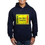 Two Way Traffic 3 Hoodie (dark)