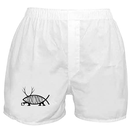 Cernunnos Fish Boxer Shorts