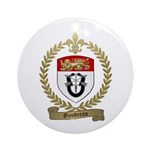GAUDREAU Family Crest Ornament (Round)