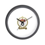GAUDREAU Family Crest Wall Clock
