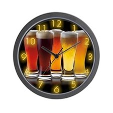 Cold Beers Wall Clock