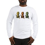 Three Tiki Gods Long Sleeve T-Shirt