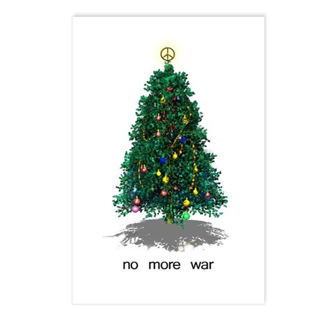 No More War Christmas Postcards (Package of 8)