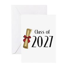 Class of 2027 Diploma Greeting Card