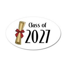 Class of 2027 Diploma Wall Decal