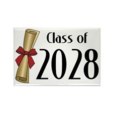Class of 2028 Diploma Rectangle Magnet