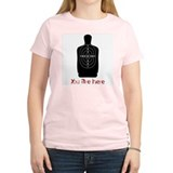 Primal Pixels You Are Here Women's Pink T-Shirt
