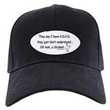 ADHD Chicken Baseball Hat