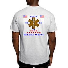 Proud to be an IraqSandbox Medic  Ash Grey T-Shir