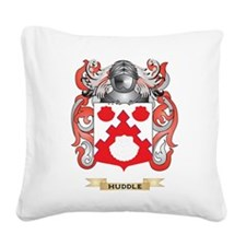 Huddle Coat of Arms (Family Crest) Square Canvas P