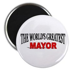 """The World's Greatest Mayor"" Magnet"