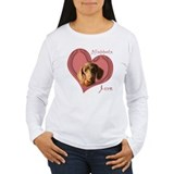 Dachshund is Love T-Shirt