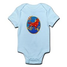 Year Of The Ox Oval Infant Bodysuit
