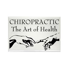 The Art of Health Rectangle Magnet (100 pack)